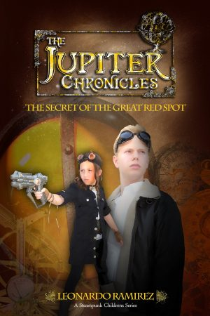 Cover for The Jupiter Chronicles: The Secret of the Great Red Spot