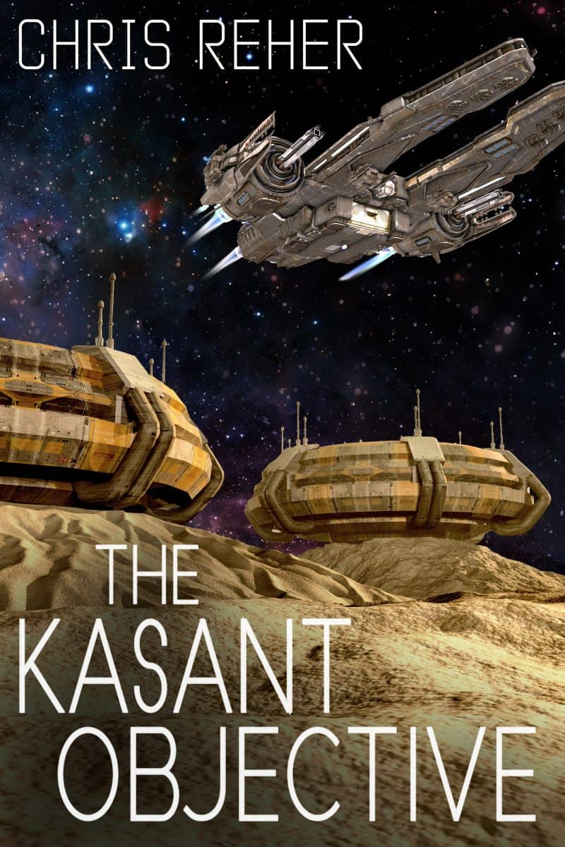 Cover for The Kasant Objective