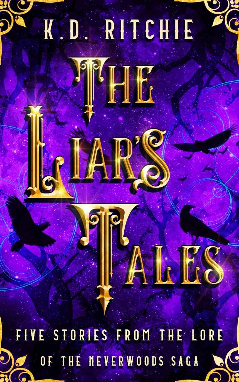 Cover for The Liar's Tales: Five Stories from the Lore of the Neverwoods Saga