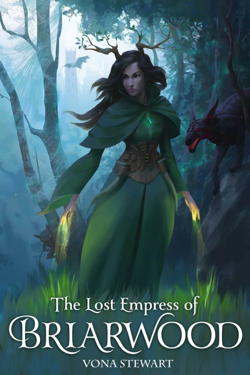 Cover for The Lost Empress of Briarwood