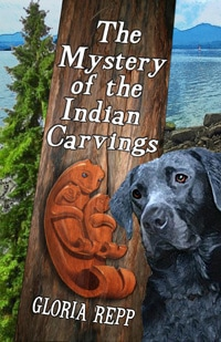 Cover for The Mystery of the Indian Carvings