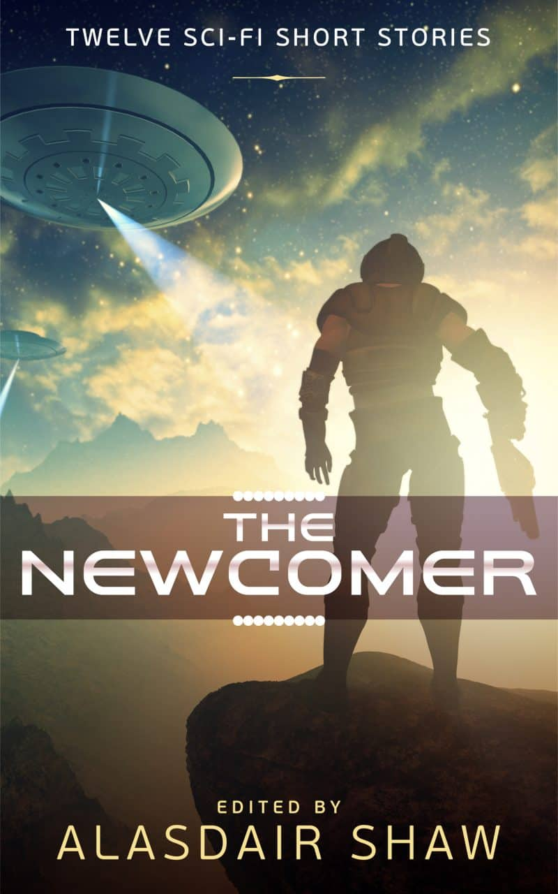 Cover for The Newcomer: Twelve Science Fiction Short Stories