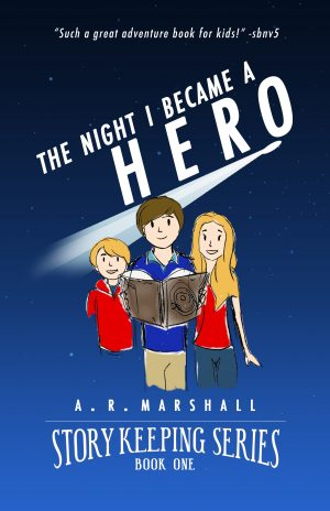 Cover for The Night I Became A Hero