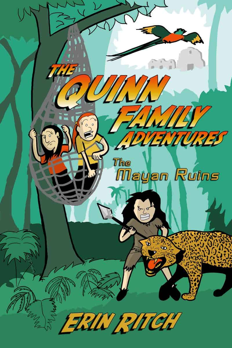 Cover for The Quinn Family Adventures: The Mayan Ruins