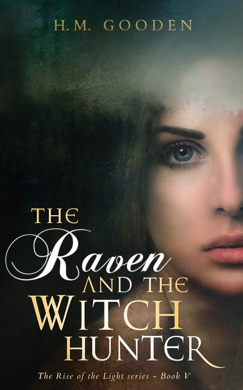 Cover for The Raven and The Witch Hunter: The Rise of the Light