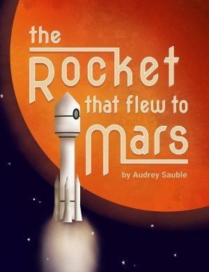 Cover for The Rocket that Flew to Mars