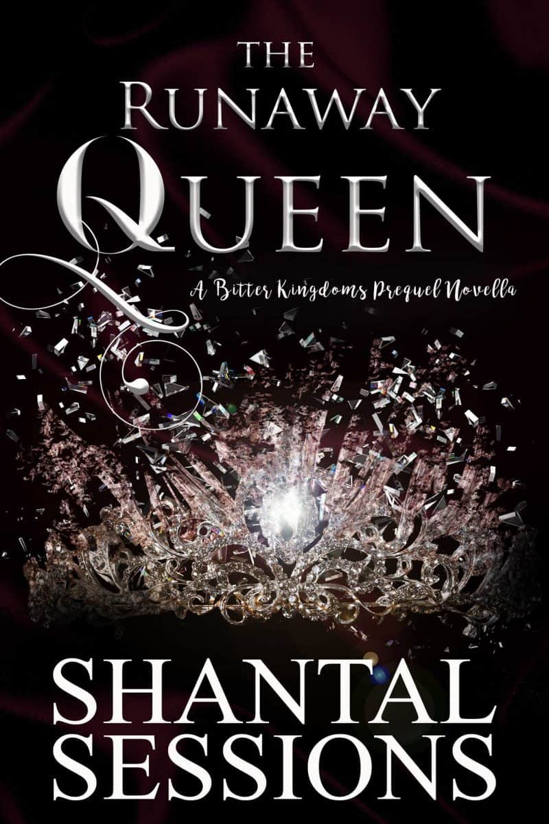 Cover for The Runaway Queen: A Bitter Kingdoms Prequel Novella