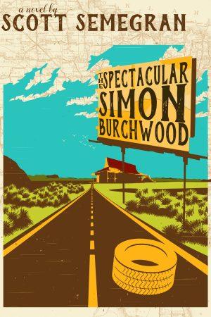 Cover for The Spectacular Simon Burchwood
