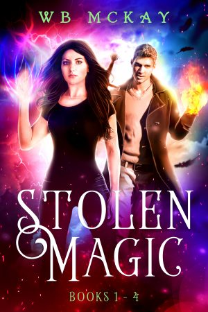 Cover for The Stolen Magic Series