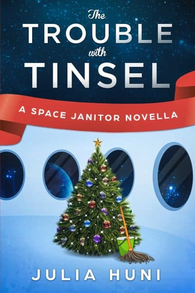 Cover for The Trouble with Tinsel