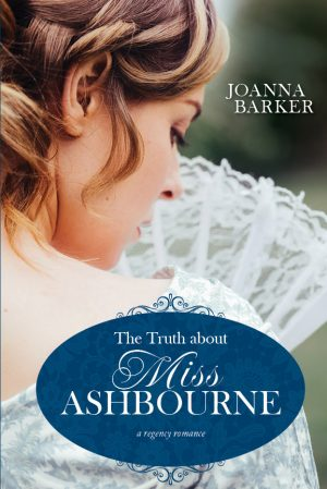 Cover for The Truth about Miss Ashbourne