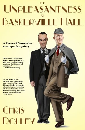 Cover for The Unpleasantness at Baskerville Hall