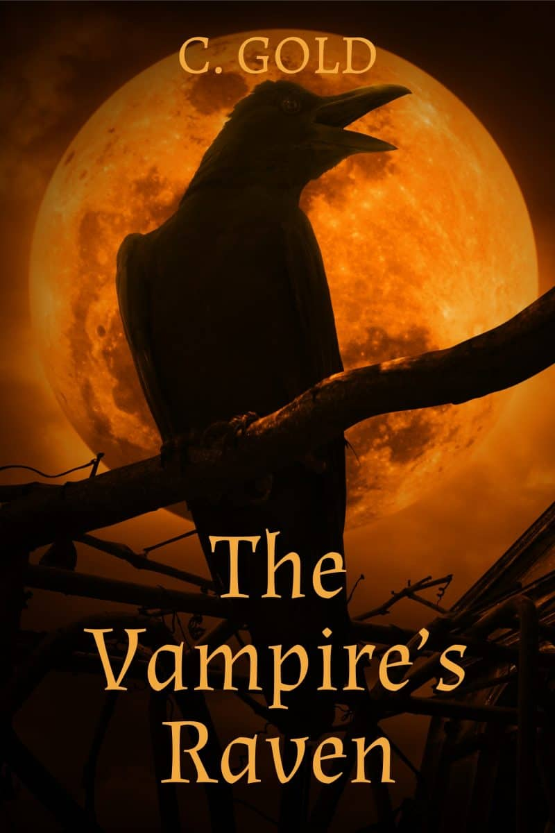 Cover for The Vampire's Raven: A Paranormal Novelette