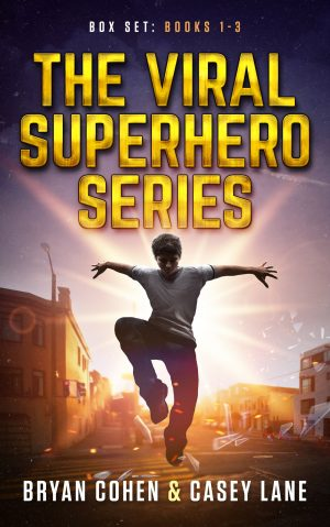 Cover for The Viral Superhero Series Box Set