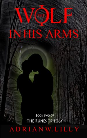 Cover for The Wolf in His Arms