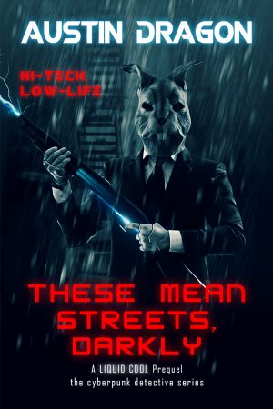 Cover for These Mean Streets, Darkly