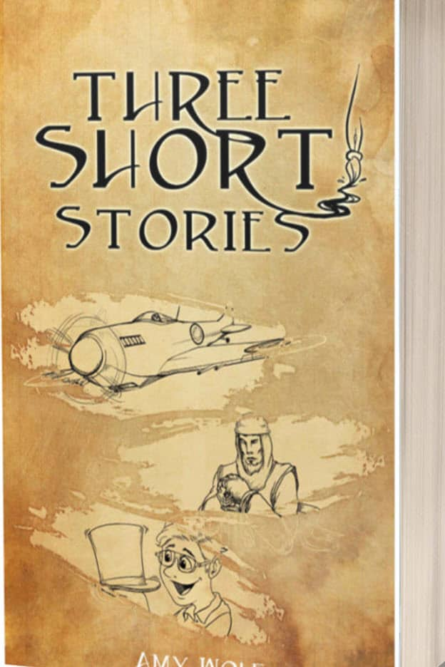 Cover for Three Short Stories
