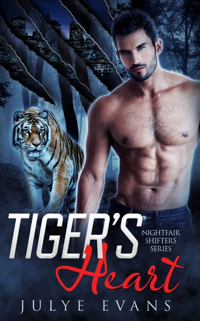 Cover for Tiger's Heart: Nightfair Shifters Series