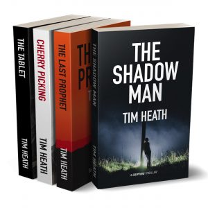 Cover for Tim Heath Thriller Boxset