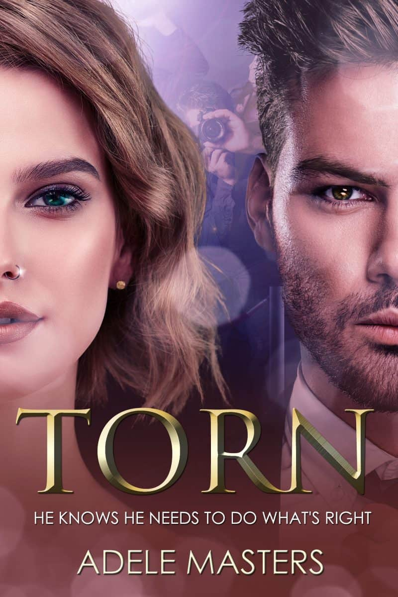 Cover for Torn: He knows he needs to do whats right