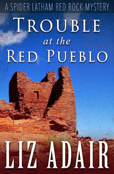 Cover for Trouble at the Red Pueblo