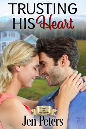 Cover for Trusting His Heart