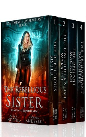 Cover for Unstoppable Liv Beaufont Boxed Set
