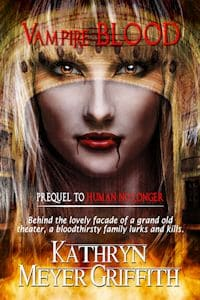 Cover for Vampire Blood