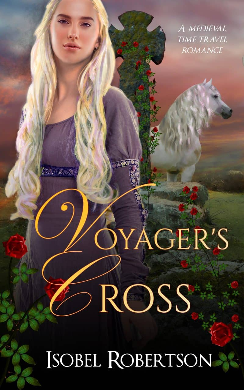 Cover for Voyager's Cross: A Medieval Time Travel Romance
