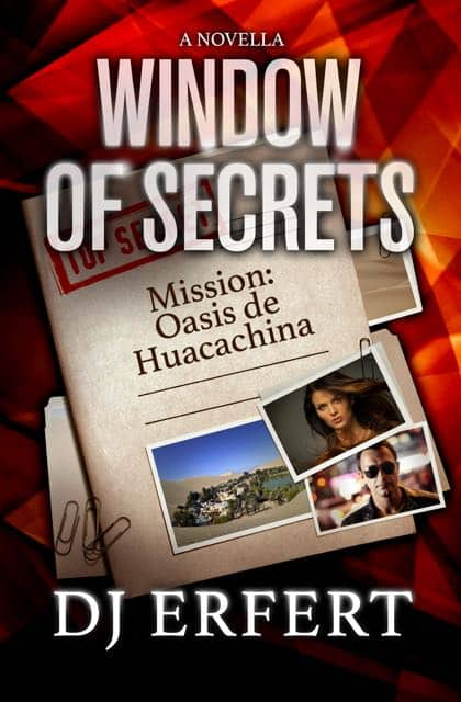 Cover for Window of Secrets: Mission: Oasis de Huacachina