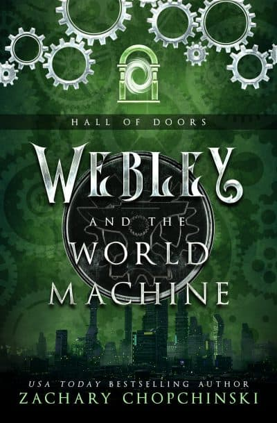 Cover for Webley and the World Machine