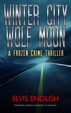 Cover for Winter City Wolf Moon