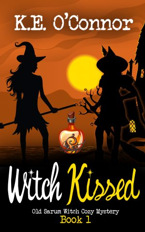 Cover for Witch Kissed