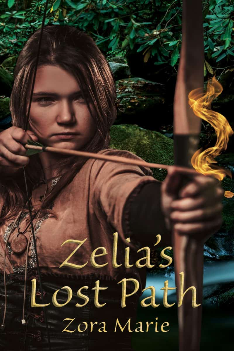 Cover for Zelia's Lost Path: A Side Story from Zelia