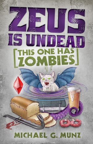 Cover for Zeus Is Undead: This One Has Zombies