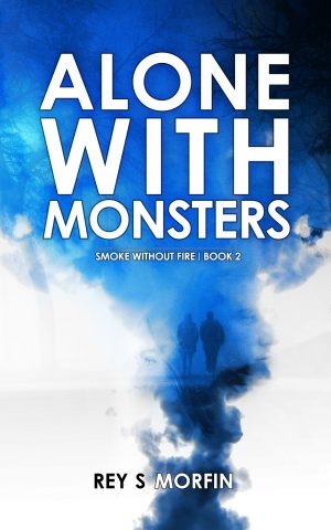 Cover for Alone with Monsters