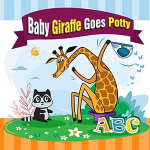 Cover for Baby Giraffe Goes Potty