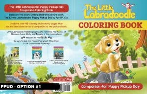 Cover for Puppy Pickup Day Companion Coloring & Activity Book