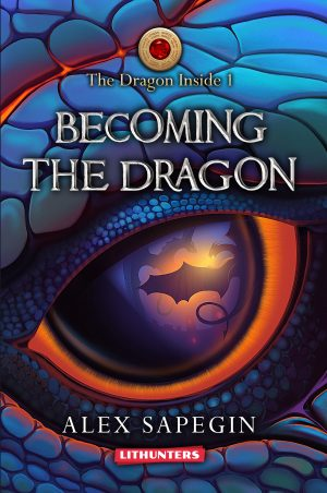 Cover for Becoming the Dragon