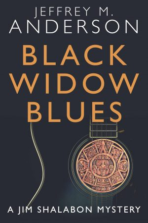 Cover for Black Widow Blues