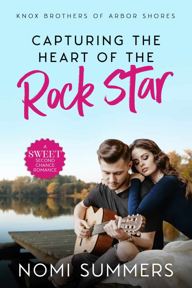 Cover for Capturing the Heart of the Rock Star: A Sweet Second Chance Romance