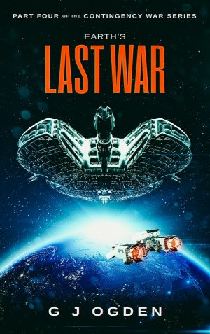 Cover for Earth's Last War
