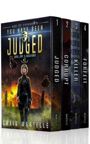 Cover for Judge, Jury, & Executioner Boxed Set