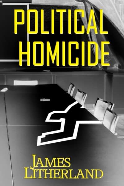 Cover for Political Homicide