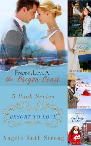 Cover for Resort to Love Christian Romance Boxed Set