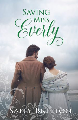 Cover for Saving Miss Everly