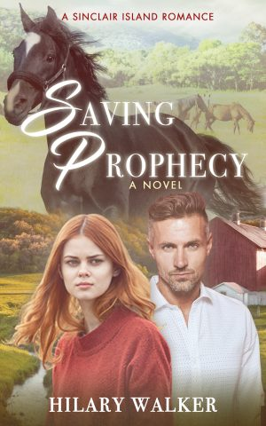 Cover for Saving Prophecy