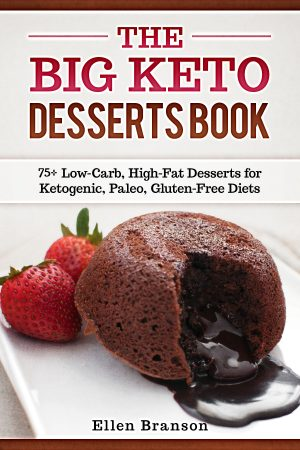 Cover for The Big Keto Desserts Book