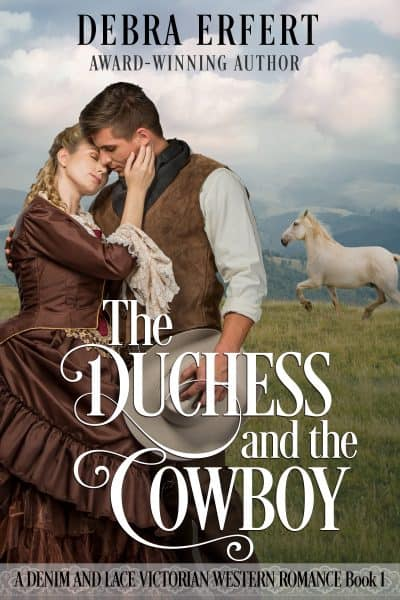 Cover for The Duchess and the Cowboy