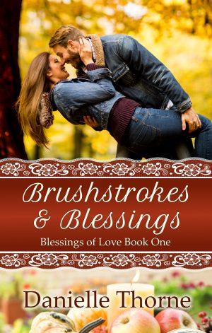 Cover for Brushstrokes and Blessings